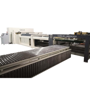Large corrugated paper automatic cutting production line A